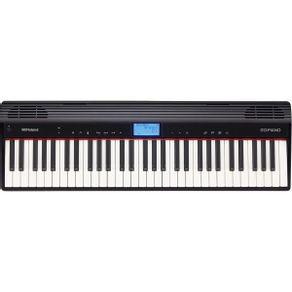 Piano Digital 61 Teclas Com Bluetooth GO-61P - Roland